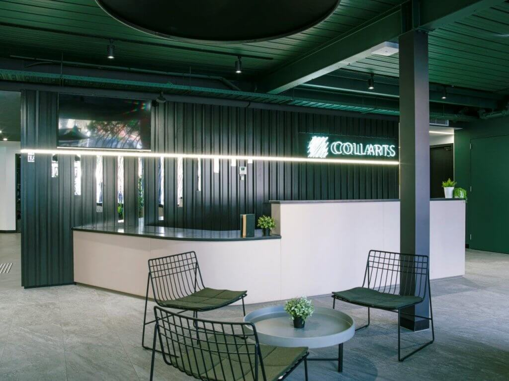 Collarts - Collingwood Campus Interior Design - Reception