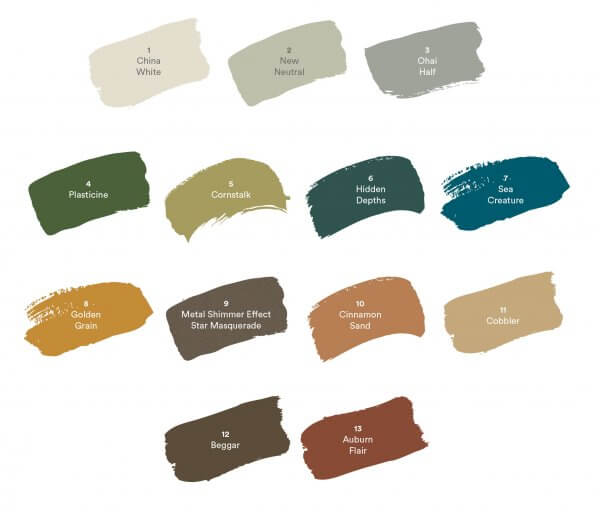 Dulux Colour Forecast 2019 - Repair Pallette