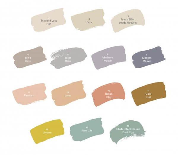 Dulux Colour Forecast 2019 - Wholeself Pallette