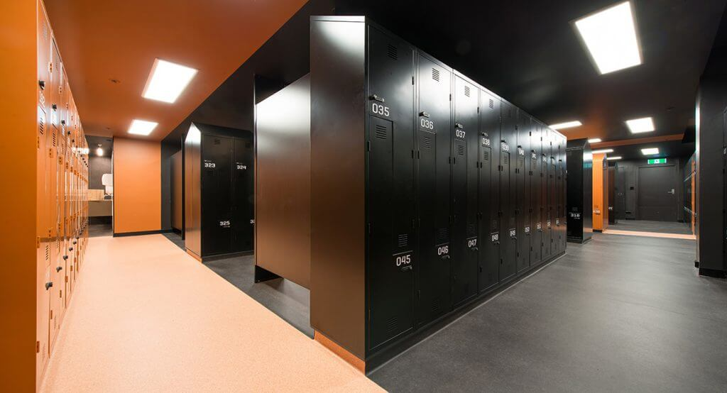 Grant Hyatt Melbourne - Hotel Interior Design - Lockers 4