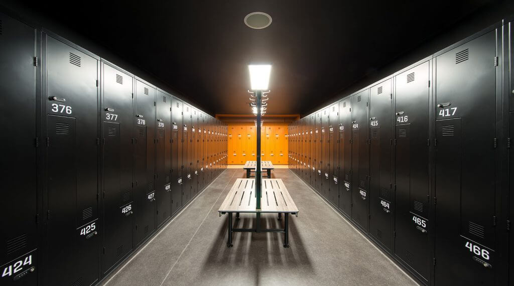 Grant Hyatt Melbourne - Hotel Interior Design - Lockers 2