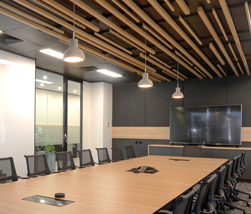 Merit Interiors - Hanson Boardroom 1