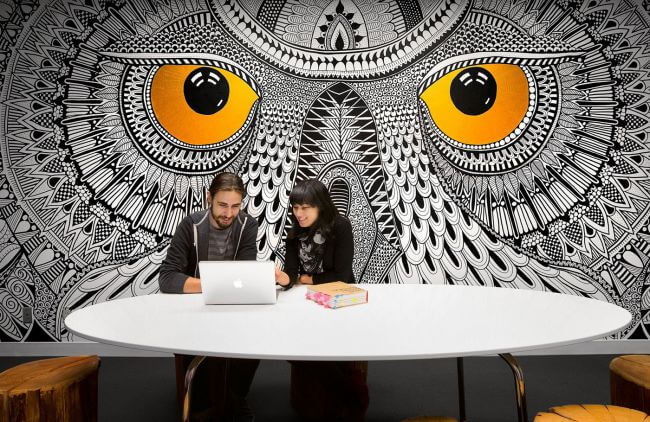 Office Murals to Inspire - Hootsuite