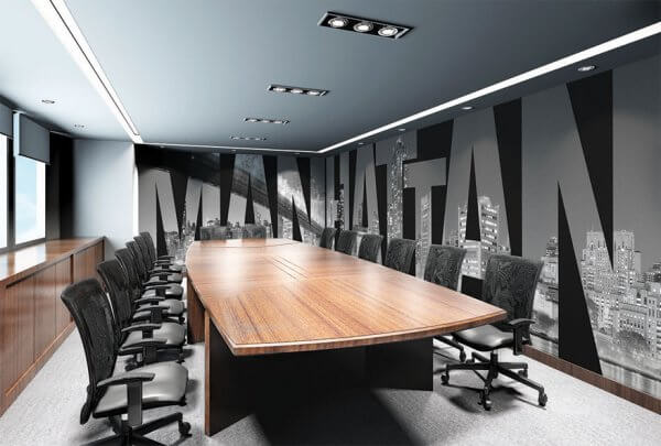 Office Murals to Inspire - Manhatten