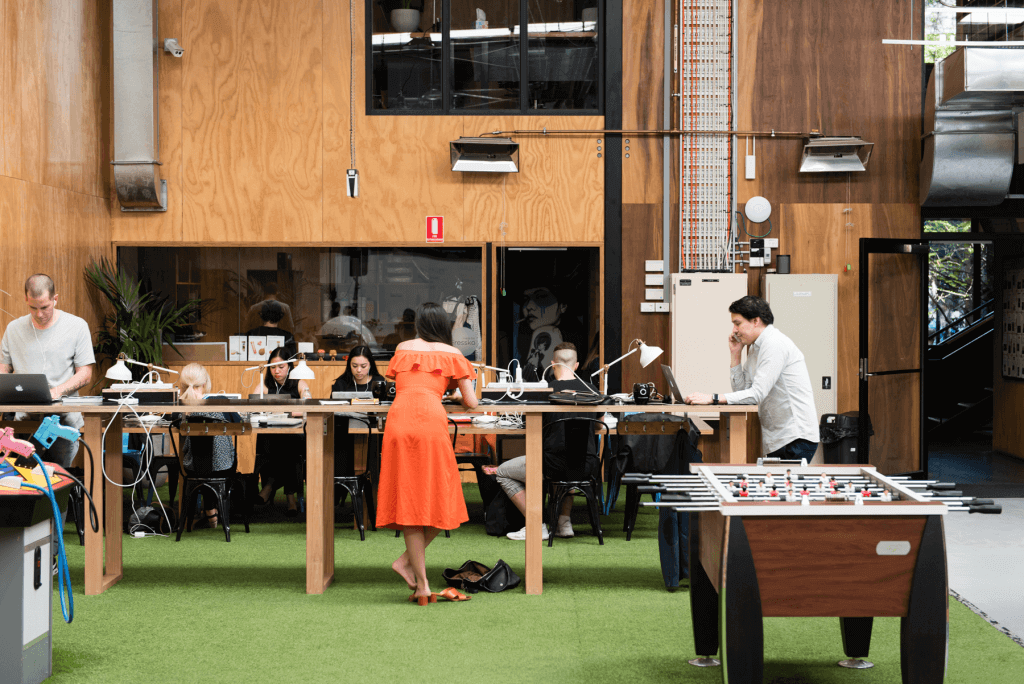 The Commons have implemented Standing Desks
